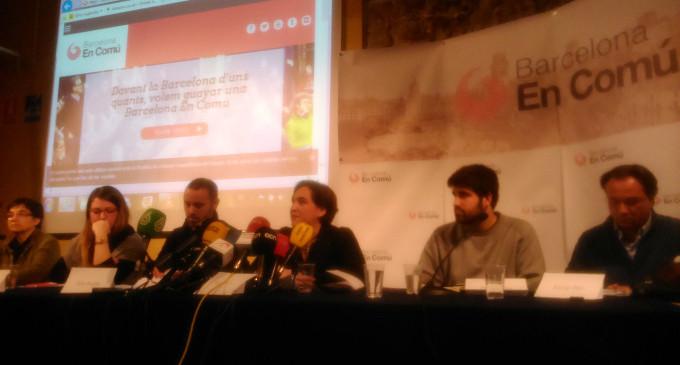 Guanyem se presentará en la capital catalana con el nombre de 'Barcelona en comú'