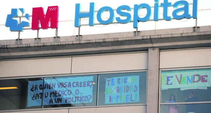 """La sanidad en el pacto PP-C's: """"Puede favorecer una mayor privatización"""""""
