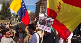 """Unos 500 antipodemos se manifiestan en Madrid al grito de """"no pasarán"""""""