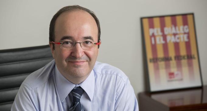 """Miquel Iceta: """"El partido socialista aparece como un partido del sistema"""""""