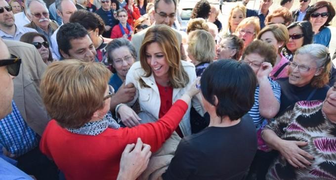 "Susana Díaz asegura que el PSOE gobernará ""en solitario"" en Andalucía"