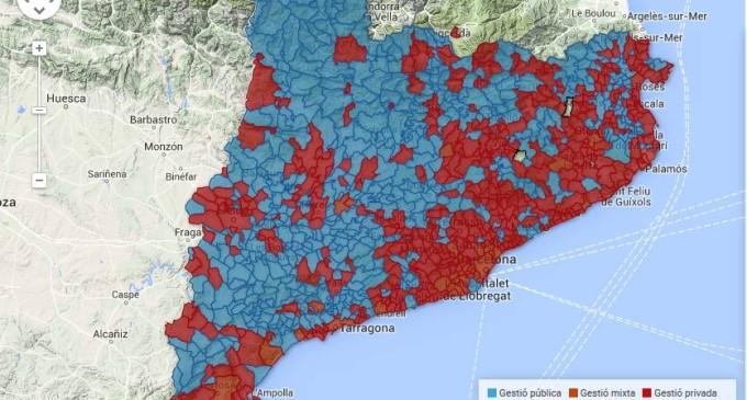 La gestión privada encarece un 25% el agua
