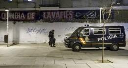 Aumenta la presión policial sobre los centros sociales de Madrid