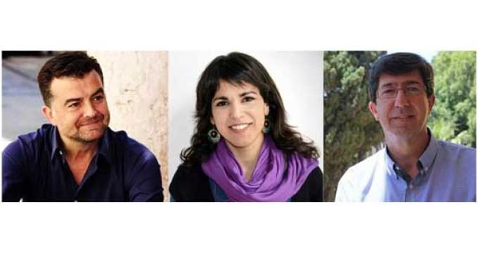 Entrevista a los líderes de las alternativas a PP y PSOE en Andalucía