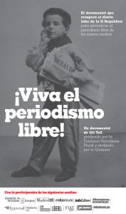 Descuento en el documental El Heraldo de Madrid para suscriptores de La Marea