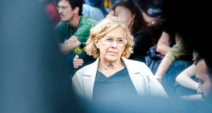 La debilidad de Manuela Carmena con la derecha