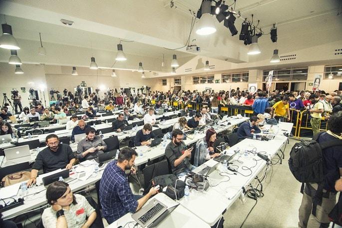 Cobertura mediática de una noche electoral I La Marea