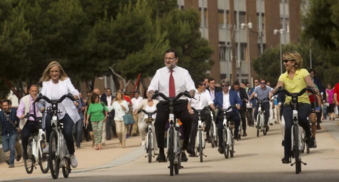 Las bicicletas son para la campaña