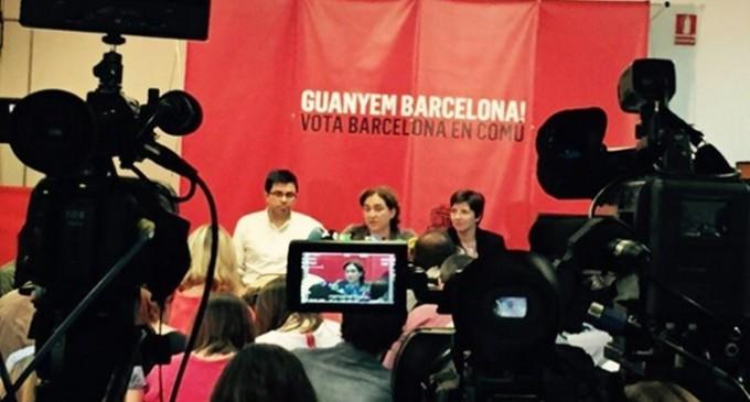 CUP-Capgirem Barcelona darán uno de sus tres votos a Ada Colau como alcaldesa