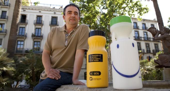 Los despropósitos del sistema de reciclaje de aceite doméstico usado en Barcelona