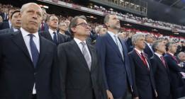 Pitar el himno es un derecho según la Audiencia Nacional