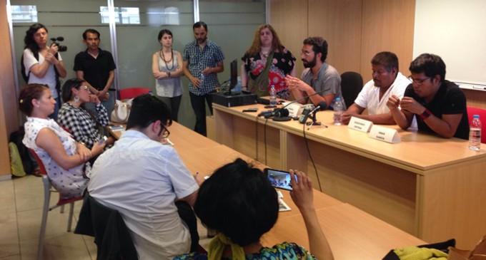 La Eurocaravana 43 llega a Barcelona en busca de solidaridad
