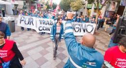 Los huelguistas de Telefónica mantendrán la protesta pese a la retirada de CCOO y UGT