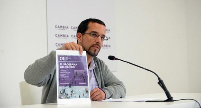 """Pascual niega una crisis interna y descarta la propuesta de """"refundar"""" Podemos"""