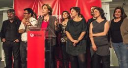 La primera ronda de contactos dibuja un gobierno en minoría de Ada Colau