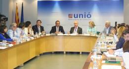 La dirección de Unió se desmarca de la hoja de ruta independentista de Convergència