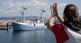 El pesquero 'Marianne' zarpa de Galicia rumbo a Gaza