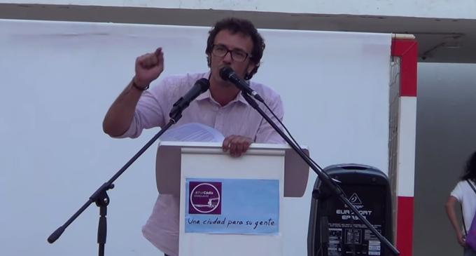 El Kichi será alcalde de Cádiz tras llegar a un acuerdo con el PSOE