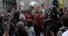 """Ada Colau: """"Queremos abrir las puertas de este Ayuntamiento a su gente"""""""