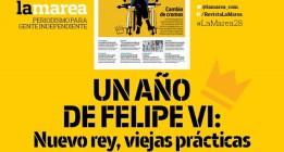 Presentación de 'La Marea' de junio: el primer año de reinado de Felipe VI