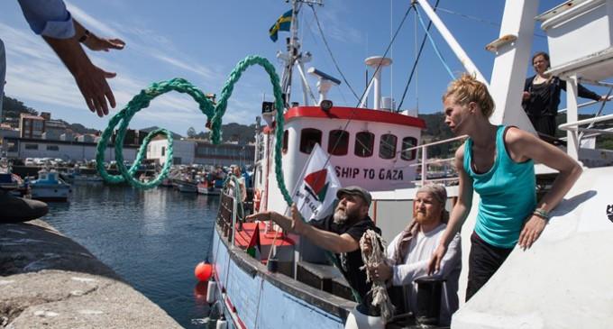 La Flotilla de la Libertad parte de nuevo hacia Palestina