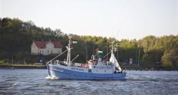 La mala mar retrasa la llegada a Motril del 'Marianne', que partirá hacia Palermo
