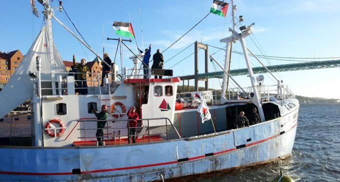 Israel intercepta el Marianne en aguas internacionales