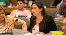"""La eurodiputada Ana Miranda denuncia un uso de """"fuerza desproporcionada"""" en el asalto al Marianne"""