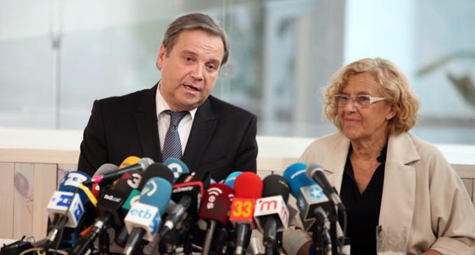 El PSOE promete a Manuela Carmena una alcaldía estable