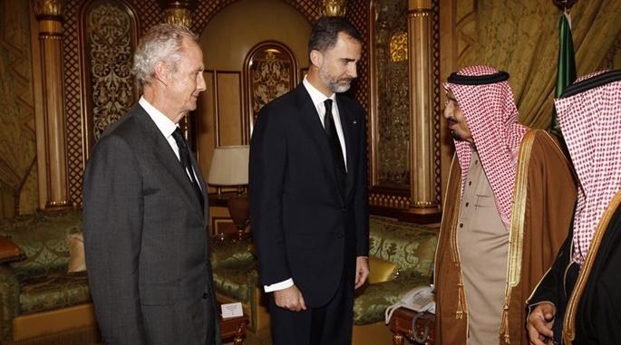 Felipe VI visita Arabia Saudí. I La Marea
