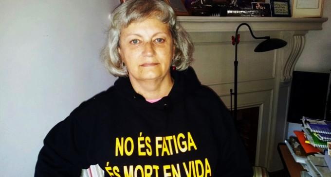 """Clara Valverde: """"Somos un aviso sobre lo cruel que va a ser el neoliberalismo"""""""