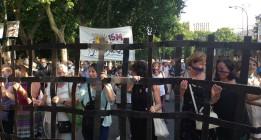 Junio, mes de protestas contra la Ley Mordaza
