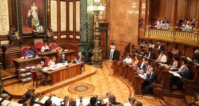 CiU, PSC, Ciutadans y PP frenan la bajada de sueldos que proponía Colau