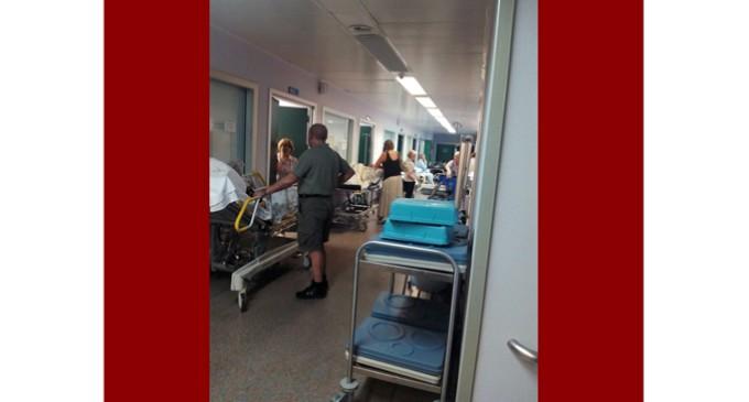 La ola de calor colapsa las urgencias del Hospital de Fuenlabrada