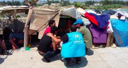 La ONU pide a la UE y a Grecia una solución para la crisis de refugiados