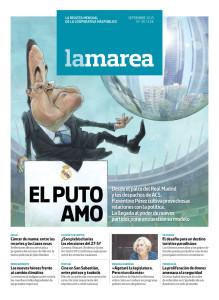 Portada de la revista La Marea nº30 | EL PUTO AMO