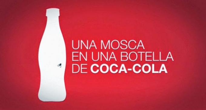 Madrid y la mosca en la botella de Coca-Cola