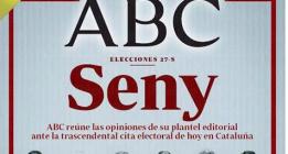 ABC pide seny llamando catetos y paletos a los independentistas