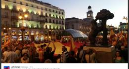 Dancausa permite que se celebre una concentración fascista en Sol a pesar de no estar comunicada