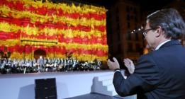 Una Diada independentista marca el inicio de la campaña catalana