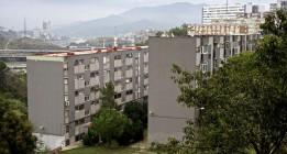 La Diada en Ciutat Meridiana, el barrio de Barcelona más castigado por la crisis