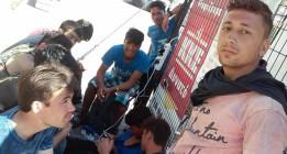 De la zodiac al ferry para llegar a Europa a través de Lesbos