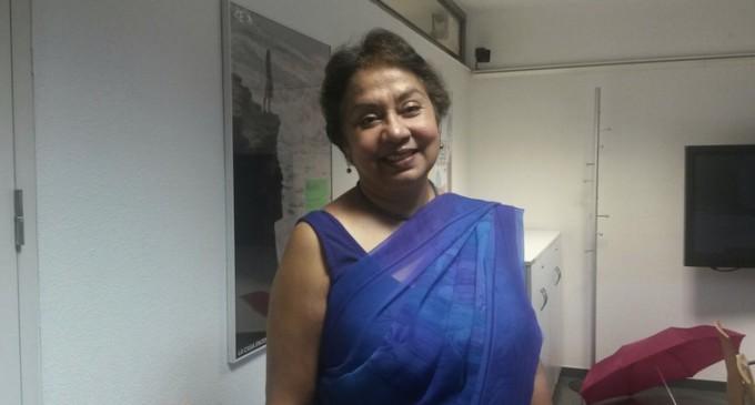"""Debarati Guha-Sapir: """"Las vallas nunca son la solución para ninguna crisis"""""""