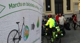 Más de 1.200 kilómetros en bici para pedir un acuerdo contra el cambio climático