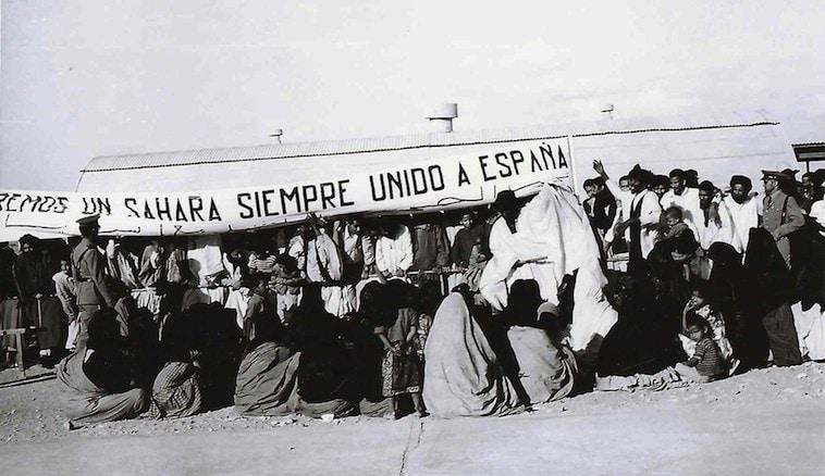 Resultado de imagen de el sáhara occidental español