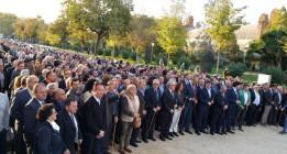 Artur Mas declara ante el TSJC con el apoyo de 400 alcaldes