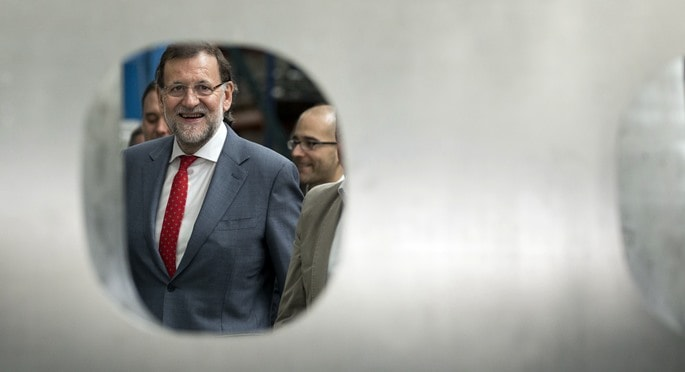 Mariano Rajoy, en una foto de archivo - PP