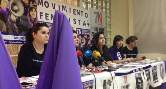 450 organizaciones marcharán el 7-N en Madrid contra las violencias machistas