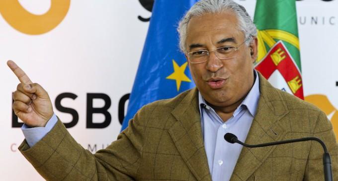 Los socialistas gobernarán Portugal apoyados en la izquierda