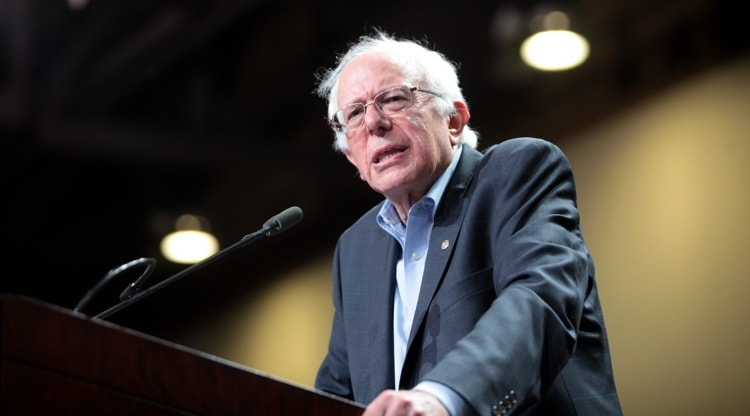 Bernie Sanders, izquierda en EEUU Trump